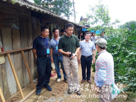 县委、县政府领导到现场调处矛盾纠纷