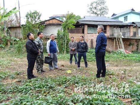 民族团结示范村建设选址中