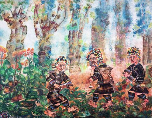 雨林深处阿卡人